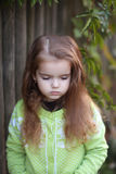 κορίτσι στοχαστικό Στοκ εικόνες με δικαίωμα ελεύθερης χρήσης