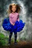 Κορίτσι στο δάσος Στοκ Εικόνα