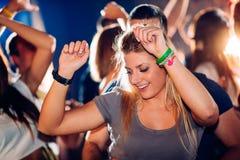 Κορίτσι στο κόμμα Στοκ Φωτογραφίες