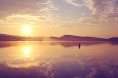 Κορίτσι στο νερό Στοκ Εικόνες
