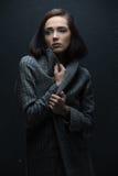 Κορίτσι στο παλτό Στοκ φωτογραφίες με δικαίωμα ελεύθερης χρήσης