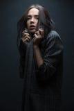 Κορίτσι στο παλτό Στοκ φωτογραφία με δικαίωμα ελεύθερης χρήσης
