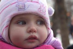 Κορίτσι στο ροζ (πορτρέτο) στοκ φωτογραφία