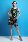 Κορίτσι στο φόρεμα Στοκ φωτογραφία με δικαίωμα ελεύθερης χρήσης