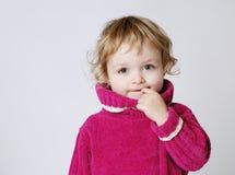 κορίτσι συνεσταλμένο στοκ φωτογραφίες με δικαίωμα ελεύθερης χρήσης