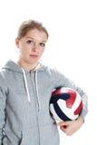 κορίτσι σφαιρών Στοκ φωτογραφία με δικαίωμα ελεύθερης χρήσης