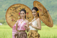 κορίτσι Ταϊλανδός Στοκ Φωτογραφία