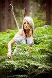 κορίτσι της Αμαζώνας Στοκ Εικόνα