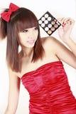κορίτσι της Ασίας makeup Στοκ φωτογραφία με δικαίωμα ελεύθερης χρήσης