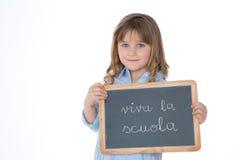Κορίτσι της Νίκαιας στο άσπρο υπόβαθρο Στοκ φωτογραφίες με δικαίωμα ελεύθερης χρήσης