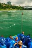 Κορίτσι της υδρονέφωσης, Niagara Στοκ φωτογραφίες με δικαίωμα ελεύθερης χρήσης