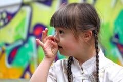 Κορίτσι της Φανή Στοκ Εικόνες