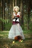 Κορίτσι της Apple Στοκ φωτογραφία με δικαίωμα ελεύθερης χρήσης