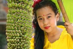 κορίτσι του Μπαλί στοκ εικόνες