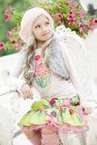 Κορίτσι το καλοκαίρι Στοκ Εικόνες