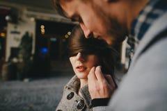 Κορίτσι τύπων σε έναν περίπατο Στοκ Εικόνα