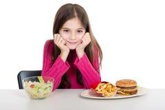 κορίτσι υγιές λίγα Στοκ Εικόνα