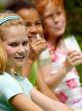 κορίτσι υγιές Στοκ Φωτογραφία