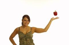 κορίτσι υγιές Στοκ εικόνα με δικαίωμα ελεύθερης χρήσης