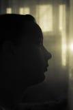 Κορίτσι λυκόφατος Στοκ φωτογραφίες με δικαίωμα ελεύθερης χρήσης