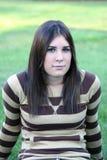 κορίτσι υπαίθρια Στοκ φωτογραφίες με δικαίωμα ελεύθερης χρήσης