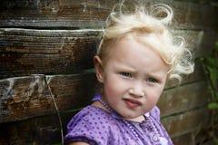 κορίτσι υπαίθριο Στοκ Εικόνες