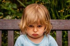 κορίτσι δυστυχισμένο Στοκ φωτογραφία με δικαίωμα ελεύθερης χρήσης