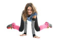 κορίτσι φίλαθλο στοκ φωτογραφία με δικαίωμα ελεύθερης χρήσης