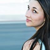 κορίτσι φακίδων Στοκ εικόνα με δικαίωμα ελεύθερης χρήσης