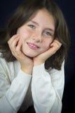 κορίτσι φακίδων λίγα αρκετά Στοκ Φωτογραφίες