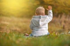 κορίτσι φθινοπώρου λίγο &pi Στοκ φωτογραφία με δικαίωμα ελεύθερης χρήσης
