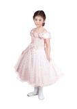 κορίτσι φορεμάτων λίγο ρ&omicron Στοκ Εικόνες