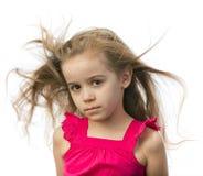 κορίτσι φορεμάτων λίγο ρ&omicron Στοκ εικόνα με δικαίωμα ελεύθερης χρήσης