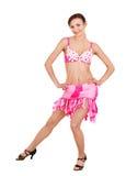 κορίτσι φορεμάτων χορού σ& Στοκ εικόνα με δικαίωμα ελεύθερης χρήσης