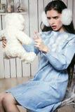 κορίτσι φορεμάτων Στοκ Εικόνα