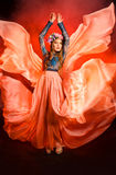 κορίτσι φορεμάτων Στοκ Φωτογραφίες