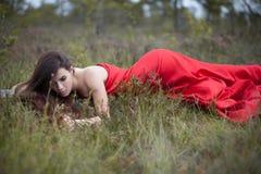 κορίτσι φυσικό Στοκ εικόνα με δικαίωμα ελεύθερης χρήσης