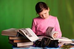 Κορίτσι φωτογράφων στοκ εικόνες