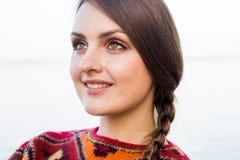 Κορίτσι χαμόγελου Στοκ Εικόνα