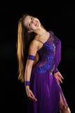 Κορίτσι-χαμόγελο χορού Στοκ Φωτογραφία