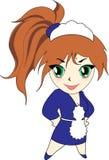 κορίτσι χαρακτήρα Στοκ φωτογραφία με δικαίωμα ελεύθερης χρήσης
