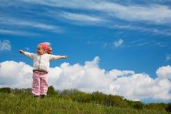 κορίτσι χαρούμενο Στοκ Φωτογραφίες