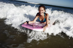 κορίτσι χαρτονιών boogie Στοκ φωτογραφίες με δικαίωμα ελεύθερης χρήσης