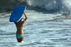 κορίτσι χαρτονιών boogie Στοκ φωτογραφία με δικαίωμα ελεύθερης χρήσης
