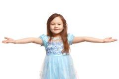 κορίτσι χειρονομίας λίγη Στοκ Φωτογραφία