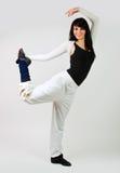 κορίτσι χορευτών στοκ φωτογραφίες με δικαίωμα ελεύθερης χρήσης