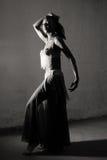 Κορίτσι χορευτών Στοκ εικόνα με δικαίωμα ελεύθερης χρήσης