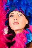 κορίτσι χορού κοστουμιώ&n Στοκ Φωτογραφίες