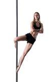 Κορίτσι χορού Πολωνού Στοκ φωτογραφίες με δικαίωμα ελεύθερης χρήσης
