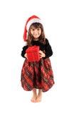 κορίτσι Χριστουγέννων λί&gamma Στοκ φωτογραφίες με δικαίωμα ελεύθερης χρήσης